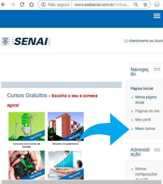 Tela-de-Boas-Vindas-curso-gratuito-do-Senai-2