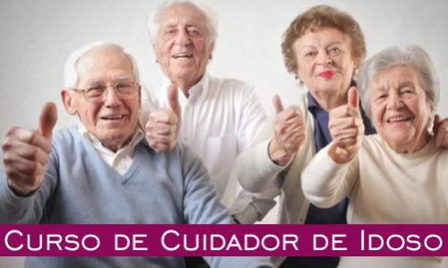 Curso de cuidador de idosos gratuito 2019 2