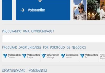 site oficial da Votorantim