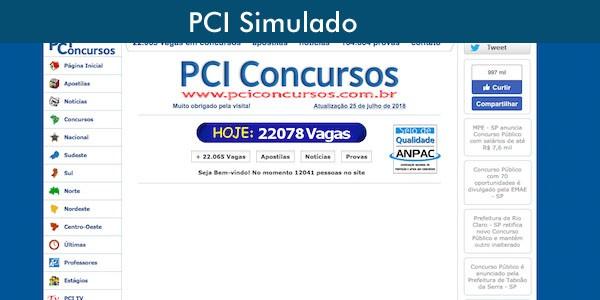PCI concursos menina estudando