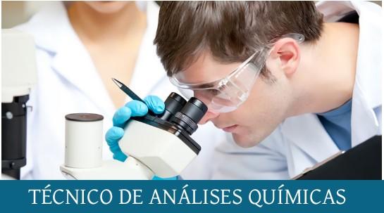 TÉCNICO DE ANÁLISES QUÍMICAS