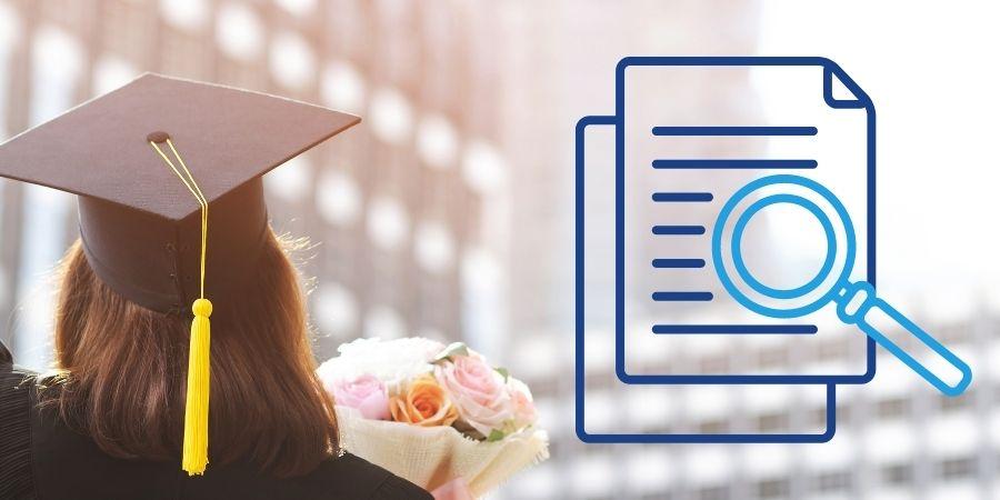 Informações sobre uma graduação