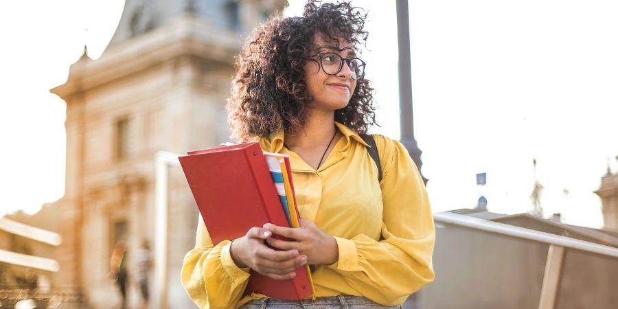 Estudar no exterior aluno